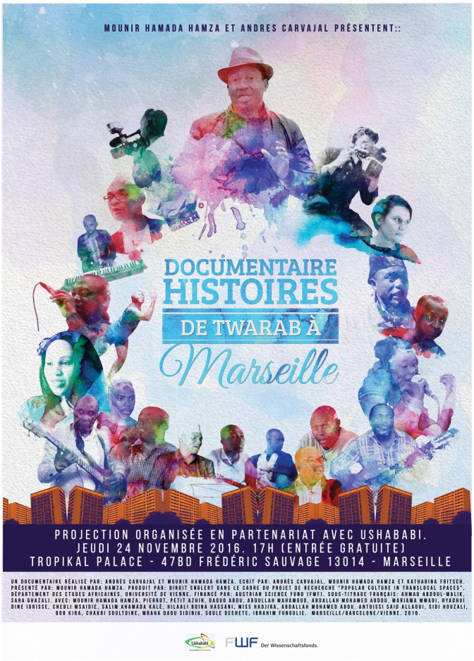 "New documentary ""Twarab Stories from Marseille"" available on DVD"