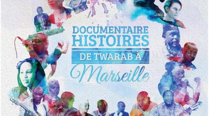 "First screening of ""Histoires de Twarab à Marseille"" at the Tropikal Palace in Marseille"